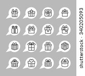 Present Icons   Gift Icons  ...