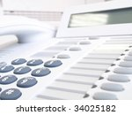 numeric pad of a phone | Shutterstock . vector #34025182