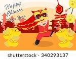 a vector illustration of... | Shutterstock .eps vector #340293137