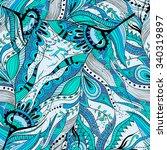 seamless pattern background... | Shutterstock . vector #340319897