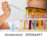 young student in elementary...   Shutterstock . vector #340366697