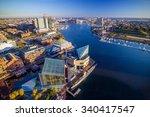 view of inner harbor area in... | Shutterstock . vector #340417547