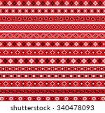 bandana border patterns | Shutterstock .eps vector #340478093