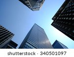 looking up at some very... | Shutterstock . vector #340501097