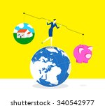 which one is more important  a... | Shutterstock .eps vector #340542977