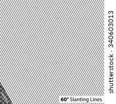 simple 60 degree slanting lines | Shutterstock .eps vector #340603013