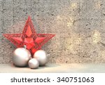 christmas decoration | Shutterstock . vector #340751063
