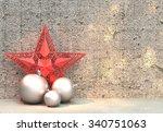 christmas decoration | Shutterstock . vector #340751063