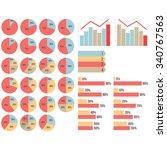 vector isolated infograpfics... | Shutterstock .eps vector #340767563