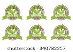 healthy badges collection | Shutterstock .eps vector #340782257
