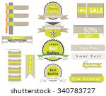 set of premium quality... | Shutterstock .eps vector #340783727