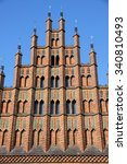 Stock photo old town hall altes rathaus in hannover germany 340810493