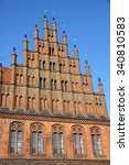 Stock photo old town hall altes rathaus in hannover germany 340810583