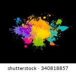 Colored Spray Paint With A...