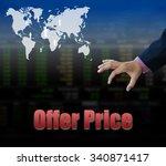 stock market basic wording for... | Shutterstock . vector #340871417