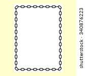 frame  border | Shutterstock .eps vector #340876223