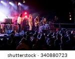 barcelona   sep 5  belako  band ... | Shutterstock . vector #340880723