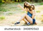 Girlfriends Having Fun Together