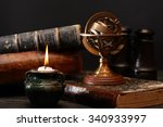 ancient astrology. old... | Shutterstock . vector #340933997