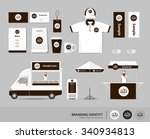 concept for coffee shop and... | Shutterstock .eps vector #340934813