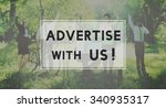 advertisement commercial online ... | Shutterstock . vector #340935317