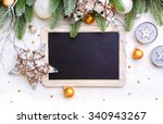 christmas background  and... | Shutterstock . vector #340943267