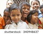 group of classmates   new delhi ... | Shutterstock . vector #340948637