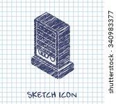 server isometric 3d icon. super ...