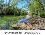 Barton Creek In Austin  Texas
