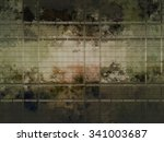 yellow creative abstract grunge ... | Shutterstock . vector #341003687