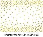 Polka Dot Gold Confetti Border...