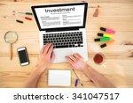 investment concept  best... | Shutterstock . vector #341047517