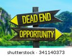 Dead End   Opportunity Signpos...