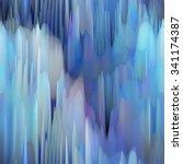 art abstract fractal wave... | Shutterstock . vector #341174387