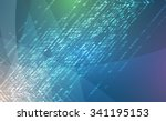 new future technology concept... | Shutterstock .eps vector #341195153