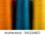 Colored Thread Spools Of Threa...