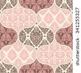 seamless pattern. patchwork. | Shutterstock .eps vector #341255327