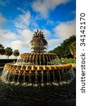 The Famous Pineapple Fountain...