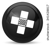 medical patch icon. internet... | Shutterstock . vector #341428817