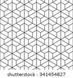 vector modern seamless  sacred... | Shutterstock .eps vector #341454827