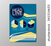 abstract cover infographic... | Shutterstock .eps vector #341514653
