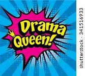"pop art comics icon ""drama...   Shutterstock .eps vector #341516933"