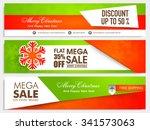 sale website header or banner... | Shutterstock .eps vector #341573063