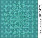 ornate pattern | Shutterstock .eps vector #34158523