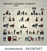 set of elements for infographic ... | Shutterstock .eps vector #341587637