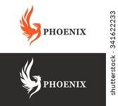 vector illustration of phoenix. ...
