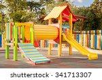 Modern Children Playground In...