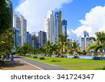 panama city  panama   20 10... | Shutterstock . vector #341724347