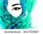 Beautiful Arabic Woman. Perfec...