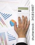 calculation of business | Shutterstock . vector #341814887